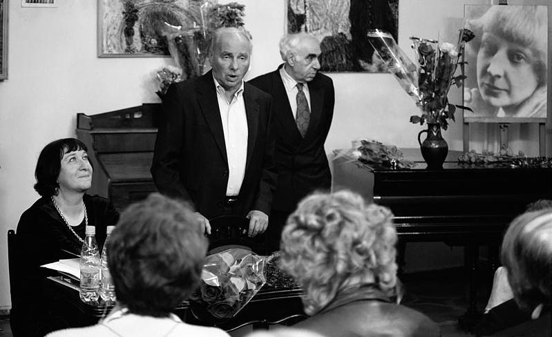 Вечер в музее цветаевой 30.09.2002г.